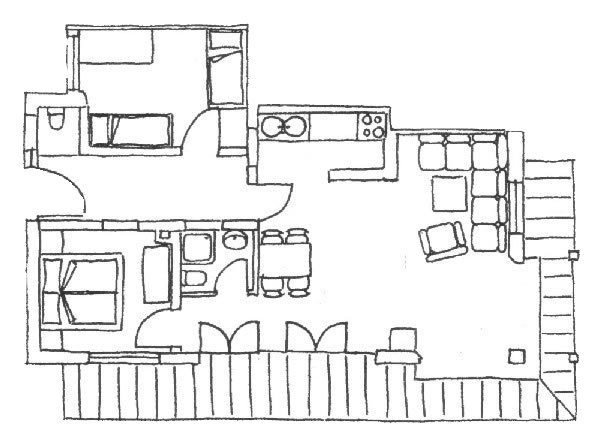 ferienwohnung sonntagshorn landhaus kramer. Black Bedroom Furniture Sets. Home Design Ideas